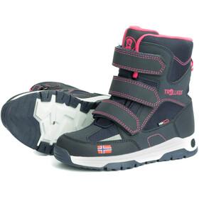 TROLLKIDS Lofoten Winter Boots Kinderen, navy/pink